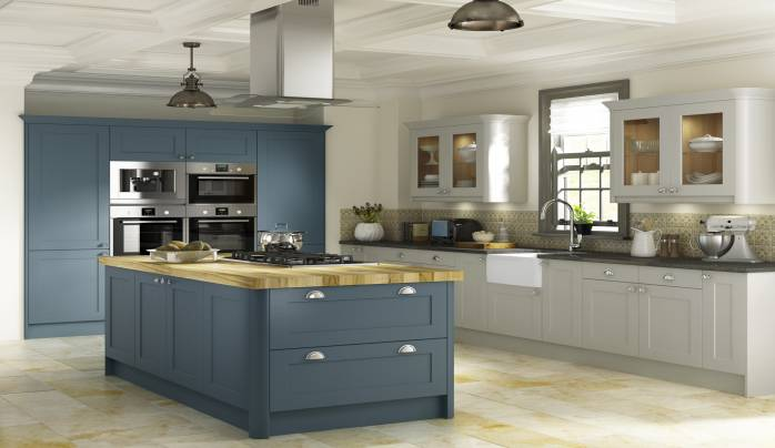 Duck Egg Blue Kitchens Uk