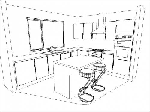 island shaped kitchen layout drawing kent shaker mussel factory kitchens cheap factory kitchens 838
